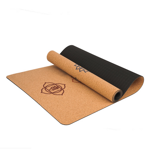 Yoga Mat Chakras Cortiça e TPE