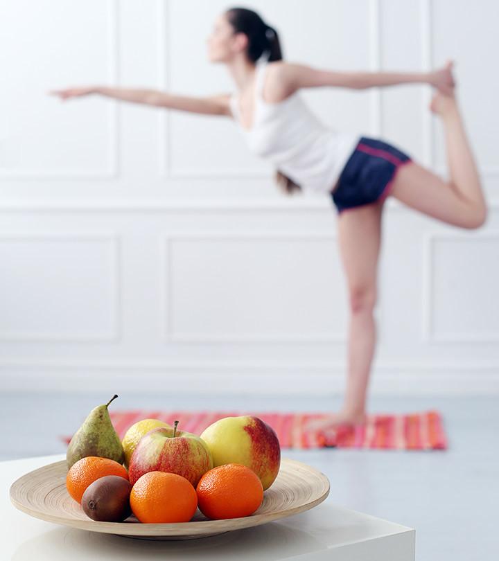 yoga alimentação