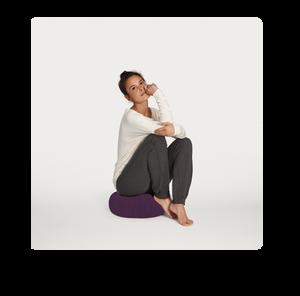 almofada de meditação