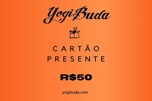Cartão Presente R$50