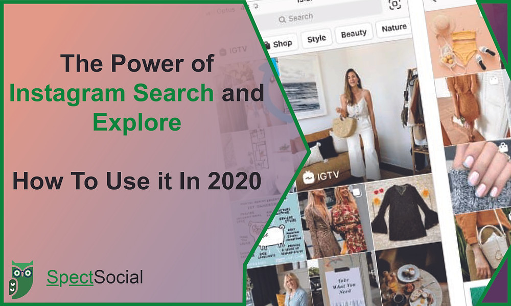 Instagram Search and Explore