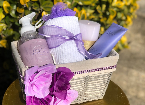 Lavender Relaxation Basket