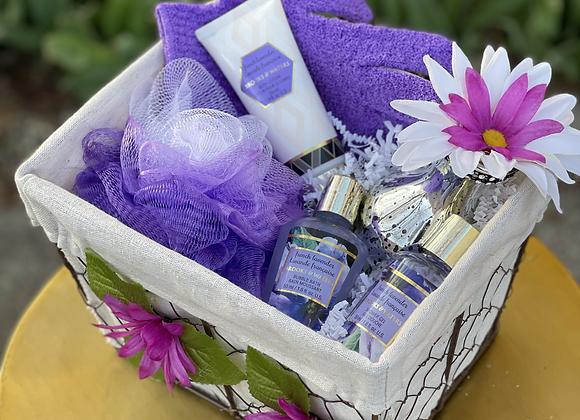 Lavender Care Basket