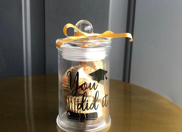 Glass Candy Jar (6pk)