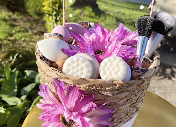 Makeup & Mirror Basket