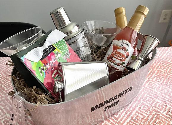 Deluxe Margarita Basket w Flask