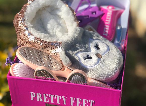 Pretty Feet Basket