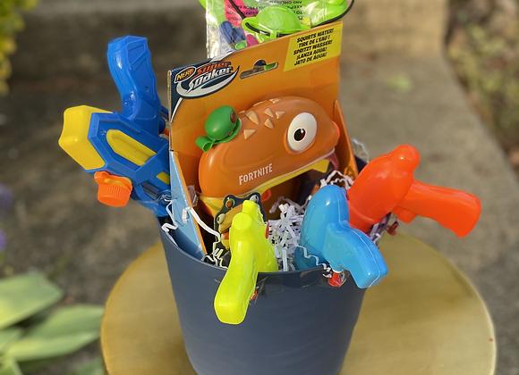 Water Gun Basket