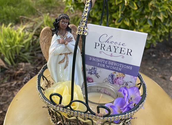 Choose Prayer Devotional Basket
