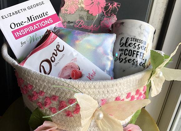 Mom's Faith Basket: Pink