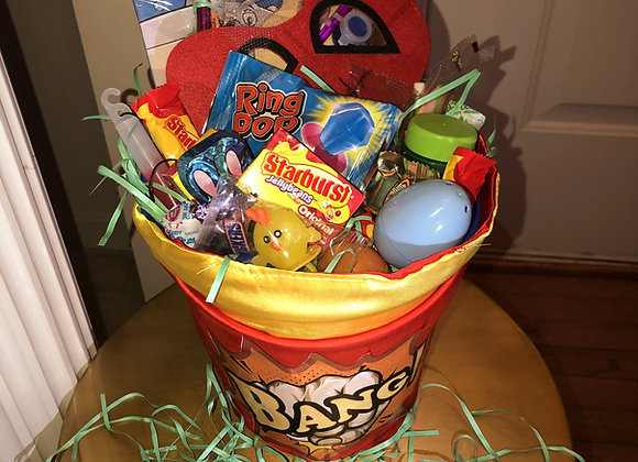Themed Easter Basket: Superhero