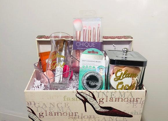 Glam Girl Basket + Vintage Box
