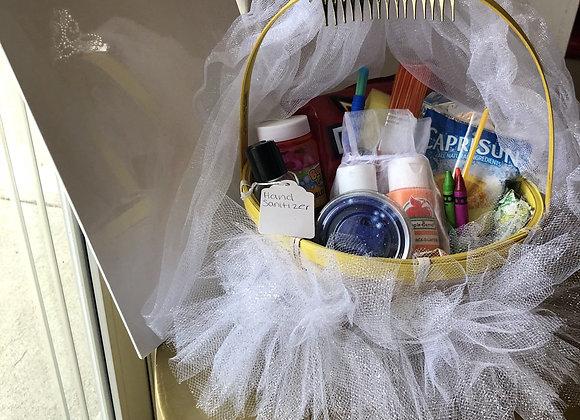 KIDS: Princess Sip & Paint Activity Basket