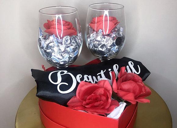 Wine & Robe Valentine's Day Gift