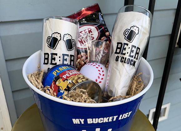 Beer O'clock Basket