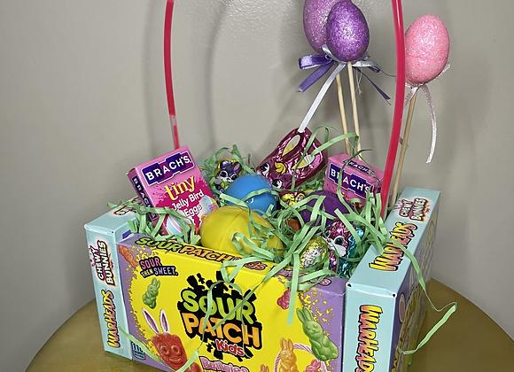 Easter Basket Bouquet: Sour Patch