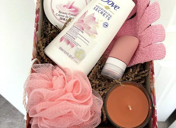 Dove Care Basket: Pink