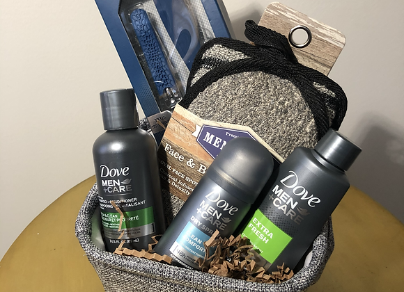 Men's Dove Care Basket