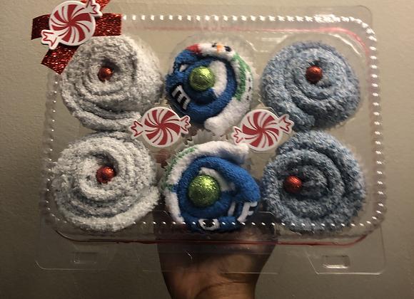 Fuzzy Sock Cupcakes: Melt Down