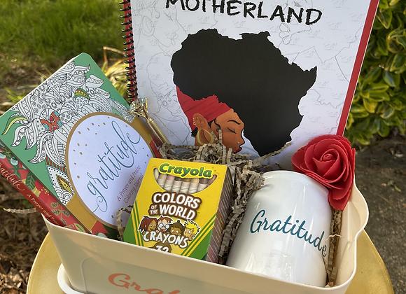 Prayer Journal & Coloring Basket