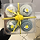 Thumbnail: Baby Boy Onesie Cupcakes: Lemon