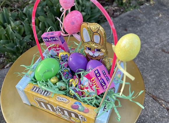 Easter Basket Bouquet: M&M