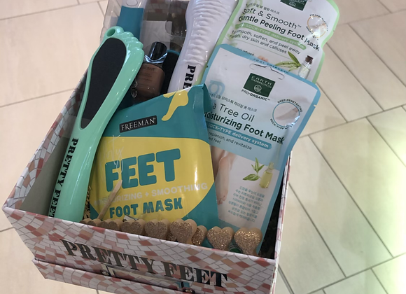 Pretty Feet Basket