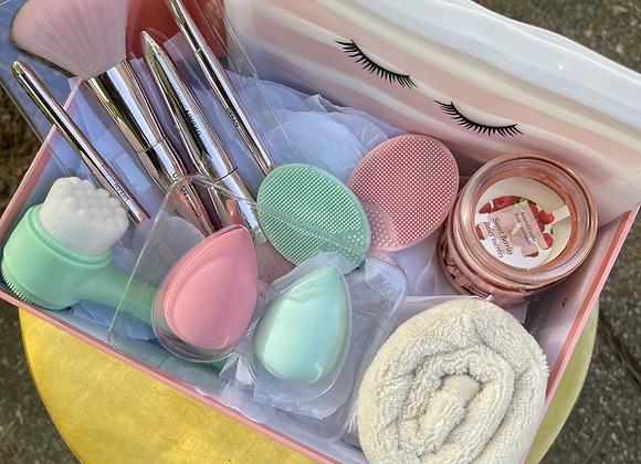 Skincare & Makeup Basket