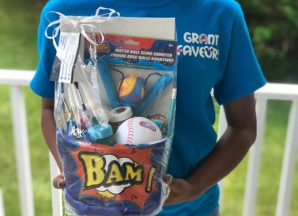 KIDS: Paint & Activity Basket