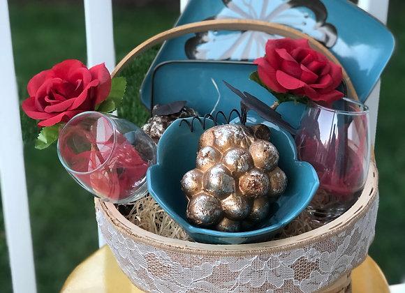Date Night Basket: Ceramic