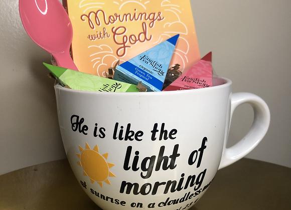 Mornings with God Basket