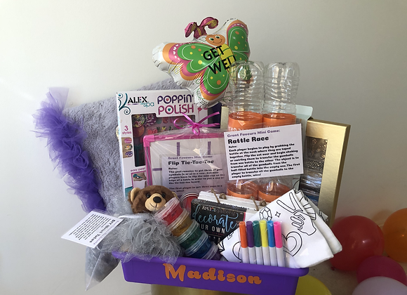 Custom Kids Activity Basket + Custom Games