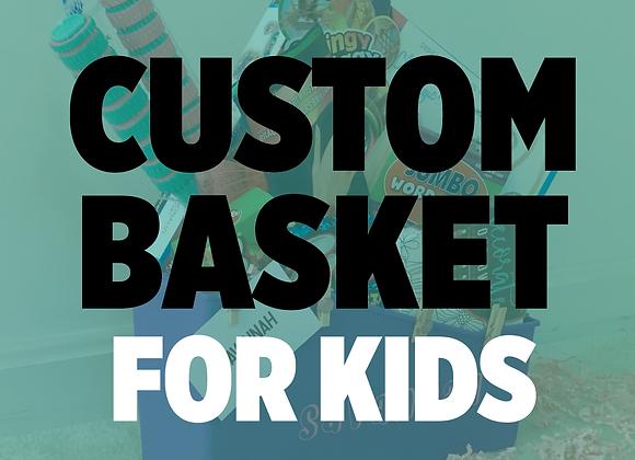 Custom Kids Activity Basket