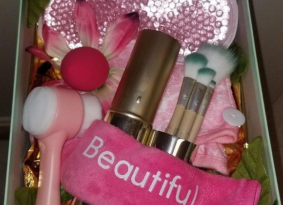 Beautiful Skin Basket: Pink