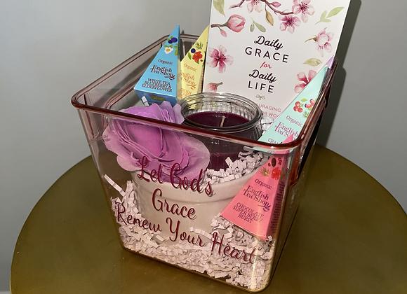 Daily Grace Devotional Basket