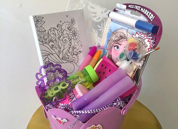 Paint Activity Basket: Purple