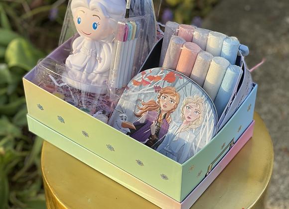 Frozen Coloring Basket
