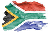 south-africa-flag-is-depicted-in-liquid-