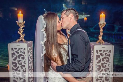 Wedding Photographer in Durban at ushaka Marine World