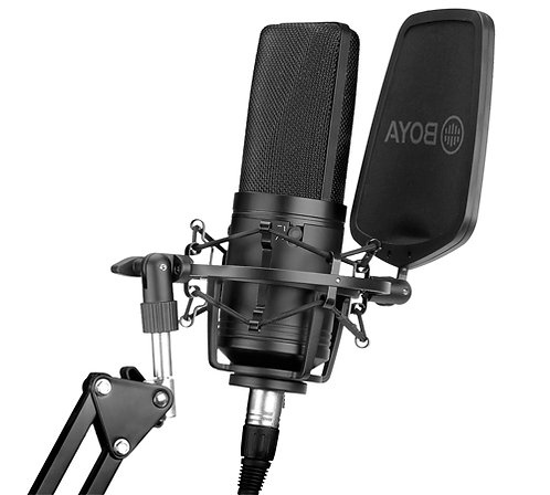 Boya BY-M1000 Large Diaphragm Condenser Microphone