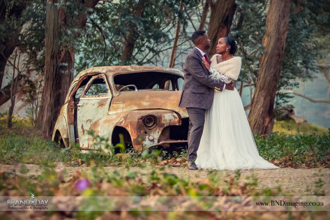 Creative Wedding Photo Shoot by Professional Durban based Photographer