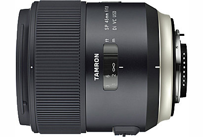 Tamron F013 SP 45mm f/1.8 Di USD Lens for Canon / Nikon / Sony