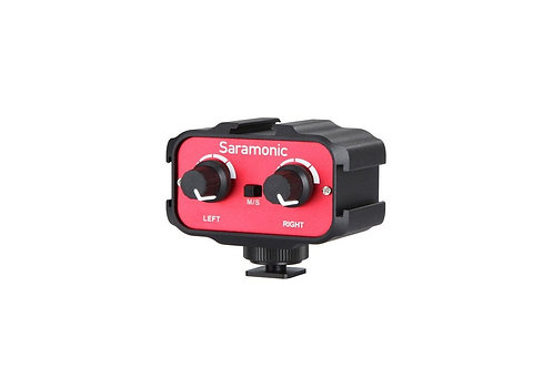 Saramonic SR-AX100 Ultra-Compact 2-Channel Audio Mixer