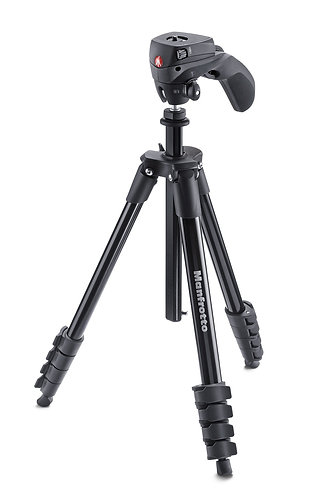Manfrotto MKCOMPACTACN-BK Kit New Compact Action Black