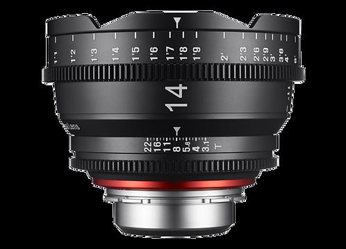 Samyang XEEN 14mm T3.1 Pro Cine Lens for Canon (Feet)