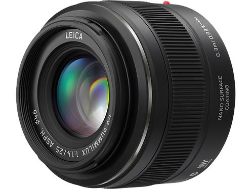 LUMIX G 25mm / F1.7 ASPH.. Micro Four Thirds 25mm Single Focal Length Lens