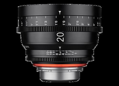 Samyang XEEN 20mm T1.9 Pro Cine Lens for Canon (Feet)