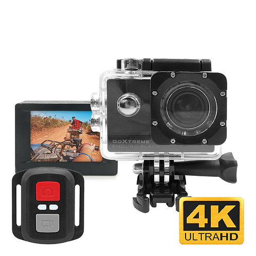 GoXtreme Enduro Black | 4K Action Camera