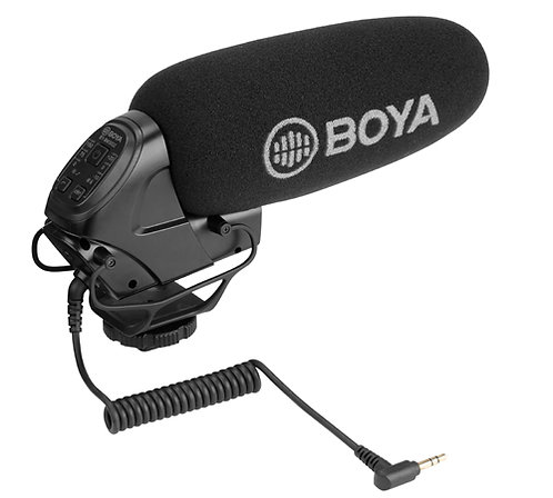 Boya BY-BM3032 Directional On-Camera Shotgun Microphone