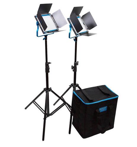 Dracast S-Series LED500 2-Light Kit V-Mount Soft Case – Bi-Colour